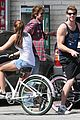 miley cyrus liam hemsworth biking 04