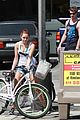 miley cyrus liam hemsworth biking 10
