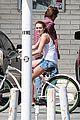miley cyrus liam hemsworth biking 11
