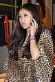 brenda song cheetah coat 03