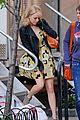 emma stone yellow dress amazing spider man set 03