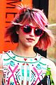 dianna agron pink hair 05