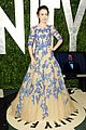 lily collins vf oscar chanel 12