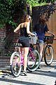 miley cyrus pilates bike ride 14