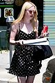 dakota elle fanning pizza neon 05