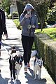 miley cyrus dog walk monday 07