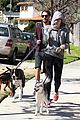 miley cyrus dog walk monday 09