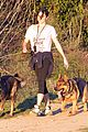 nikki reed hike hills dogs 04