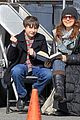 jared gilmore on set tutoring session 07