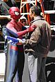 andrew garfield spider man filming with jamie foxx 04