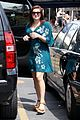 ariel winter blue dress farmers market 06