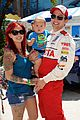 brett davern jackson rathbone toyota celebrity race 10