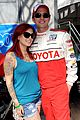 brett davern jackson rathbone toyota celebrity race 11