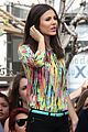 victoria justice extra appearance at the grove 16