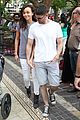ashley madekwe iddo goldberg holding hands at the grove 04