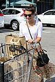 lea michele grocery shopping cory monteith steps out solo 01