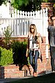 ashley tisdale back blond walk maui 02