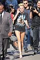 miley cyrus jimmy kimmel live arrival 2 07