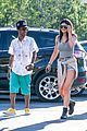 kylie jenner catches a movie with lil twist 25