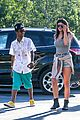 kylie jenner catches a movie with lil twist 28