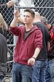 colton haynes runs arrow set 09