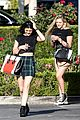 kendall kylie jenner separate lunch outings 13