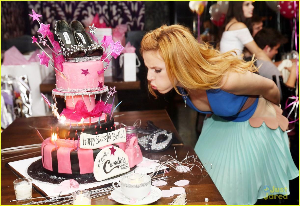 Bella Thorne Sweet 16 Birthday Party Pics