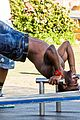 jason derulo shirtless bondi beach workout 12