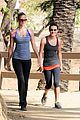 lea michele top chef hike 04