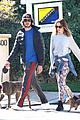 leighton meester adam brody dog walk 10