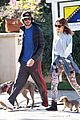 leighton meester adam brody dog walk 15