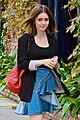 lily collins lunch meeting 13