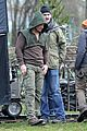 stephen amell dons wig arrow filming 10