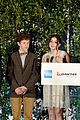 ariel winter nolan gould join modern family cast for qantas party 24