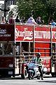 chord overstreet darren criss glee films on tour bus 48