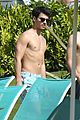 joe jonas shirtless frisbee hawaii 10