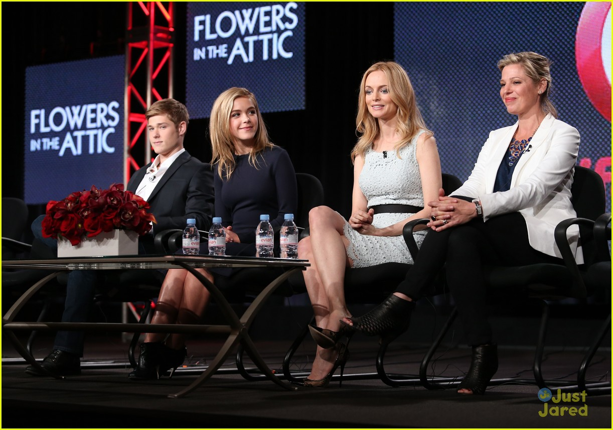 Kiernan Shipka Mason Dye Flowers In The Attic Gets A Sequel