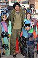 kellan lutz learns to snowboard at sundance 03