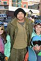 kellan lutz learns to snowboard at sundance 16
