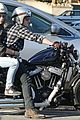 josh hutcherson motorcycle spin with mystery gal 06