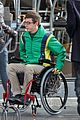 kevin mchale wheelchair crash glee scenes 03