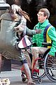 kevin mchale wheelchair crash glee scenes 09