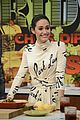 emmy rossum the chew nympho premiere 04