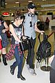 sarah hyland matt prokop syd airport departure 03