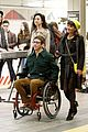 lea michele kevin mchale glee grand central 16