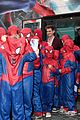 andrew garfield emma stone surrounded spidermans rome premiere 07