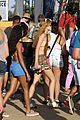bella thorne closes out coachella shirtless tristan klier 20