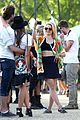 dianna agron tribal camera coachella 04