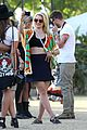 dianna agron tribal camera coachella 12