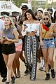 kendall and kylie jenner on an accesory hunt at coachella 201402